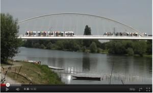 Angers light rail system - France