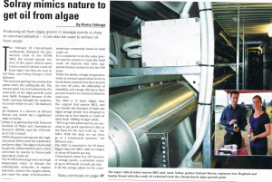 Solray Engineering News Article July 2011