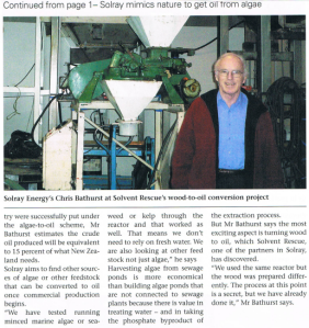 Solray Engineering news article, July 2011, p.2